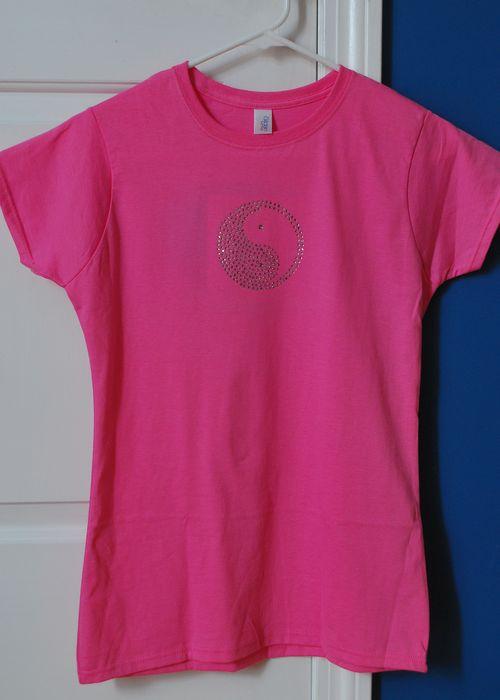 Rhinestone T-shirt-1