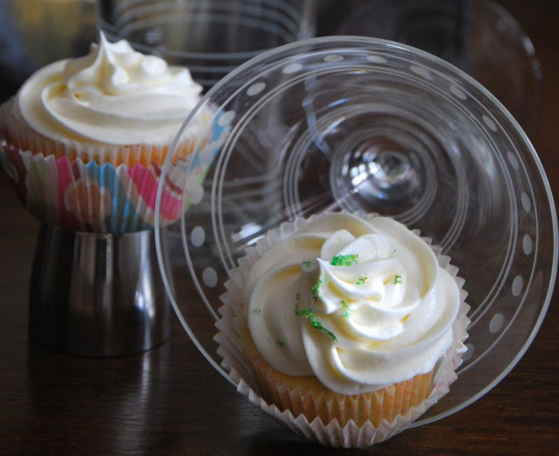 Margarita Cupcakes Close up