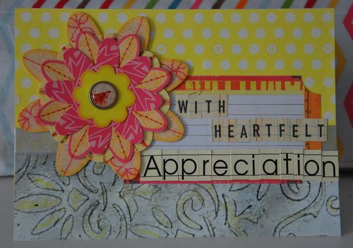Appreciation Card
