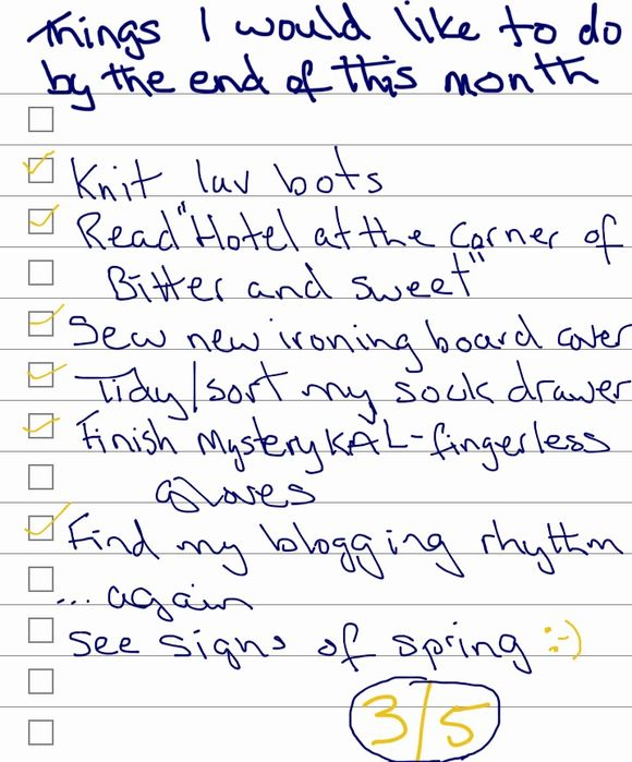 39 Days of Lists | Days 4 & 5