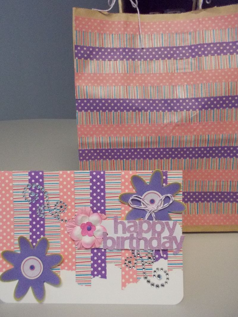 Birthday card and bag-1