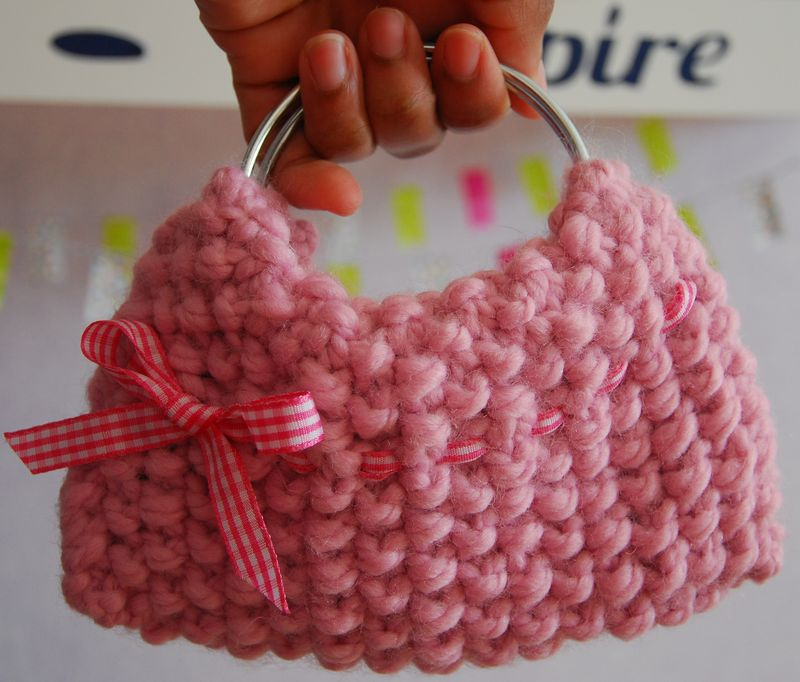 Pink mini bag-2