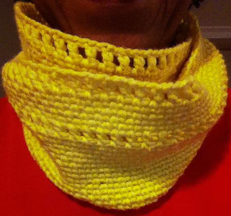 Crochet Cowl-1
