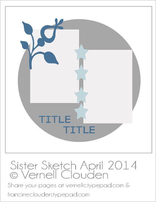April 2014 Sister Sketch